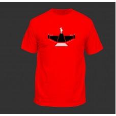 Dámské červené tričko 30 let R1