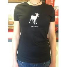 Dámské triko Koza - černé
